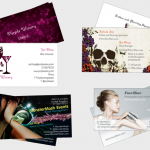 Business card collage