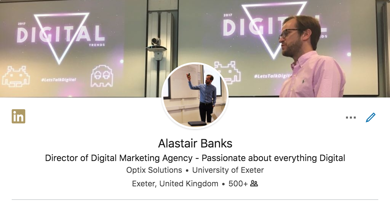 Alastair Banks - LinkedIn Training
